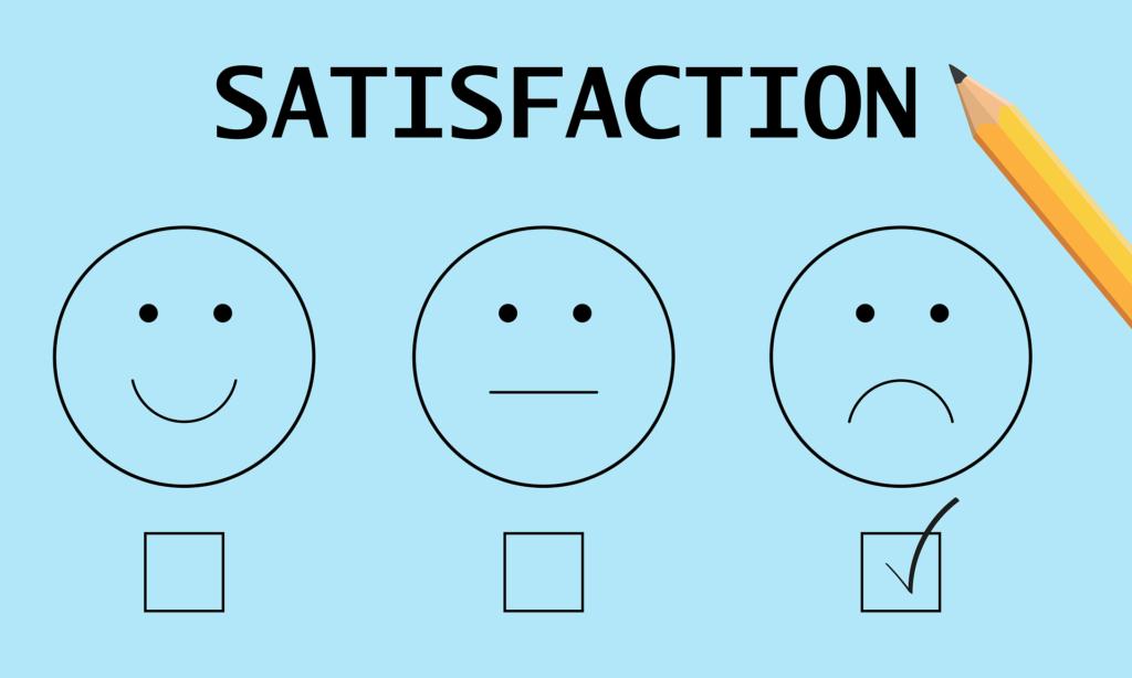 顧客の満足